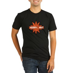 Psssst!!... Hoy! Tee Organic Men's Fitted T-Shirt (dark)