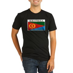 Eritrea Organic Men's Fitted T-Shirt (dark)