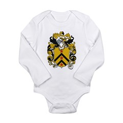 Paxton Coat of Arms Infant Creeper Long Sleeve Infant Bodysuit