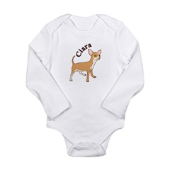 ciara Long Sleeve Infant Bodysuit