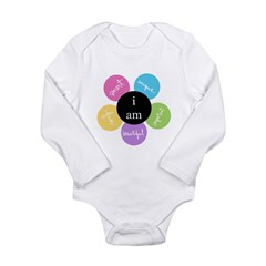"""i am..."" Long Sleeve Infant Bodysuit"