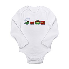 Choo Choo Kids Long Sleeve Infant Bodysuit