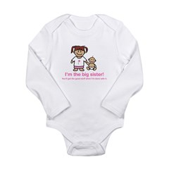 """You'll get the good stuff..."" Kids Long Sleeve Infant Bodysuit"