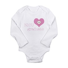 NICU grad Infant Creeper Long Sleeve Infant Bodysuit