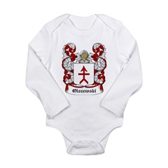 Olszewski Coat of Arms Infant Creeper Long Sleeve Infant Bodysuit