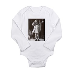 JFK Jr. Long Sleeve Infant Bodysuit