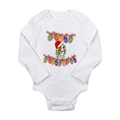 Merry Christmas Long Sleeve Infant Bodysuit
