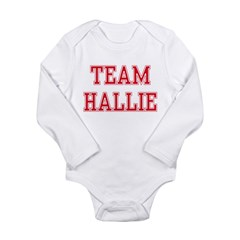 TEAM HALLIE Long Sleeve Infant Bodysuit