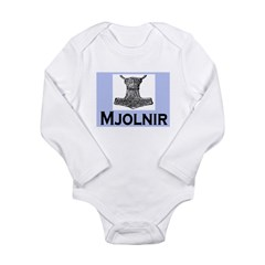 MJOLNIR (THORS HAMMER) Long Sleeve Infant Bodysuit