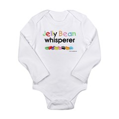 Jelly bean whisperer Long Sleeve Infant Bodysuit