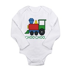 BIBtrain Long Sleeve Infant Bodysuit