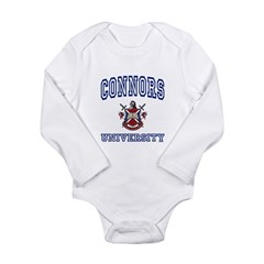 CONNORS University Long Sleeve Infant Bodysuit
