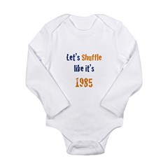 Kids Long Sleeve Infant Bodysuit