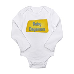 Baby Dayanara Long Sleeve Infant Bodysuit