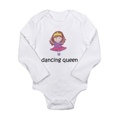 ballerina.1.jpg Long Sleeve Infant Bodysuit
