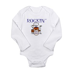 Rockin Big Brother Long Sleeve Infant Bodysuit