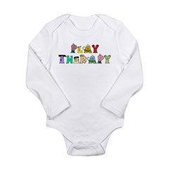 Play Therapy Long Sleeve Infant Bodysuit