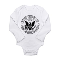 securrorism Long Sleeve Infant Bodysuit