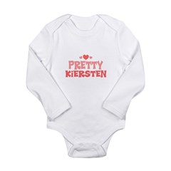 Kiersten Long Sleeve Infant Bodysuit