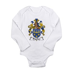 Fischer Long Sleeve Infant Bodysuit