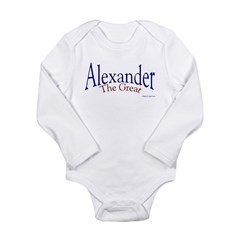 Alexander Long Sleeve Infant Bodysuit