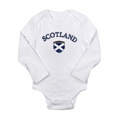 Scotland Soccer Long Sleeve Infant Bodysuit