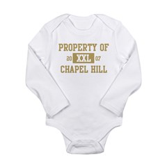 Property of Chapel Hill Long Sleeve Infant Bodysuit