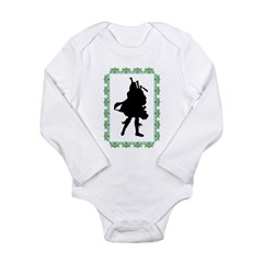 BagPipes Long Sleeve Infant Bodysuit