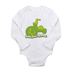 Rollin Down the Street Long Sleeve Infant Bodysuit