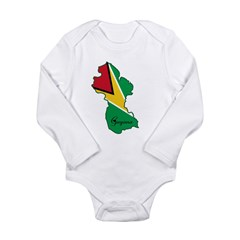Cool Guyana Long Sleeve Infant Bodysuit
