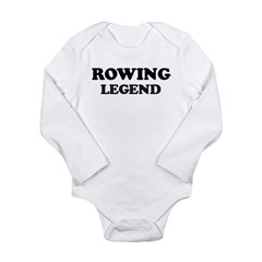 ROWING Legend Long Sleeve Infant Bodysuit