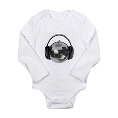 Music world Long Sleeve Infant Bodysuit