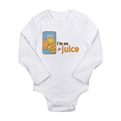 On The Juice Long Sleeve Infant Bodysuit