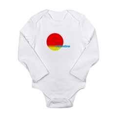 Valentina Long Sleeve Infant Bodysuit