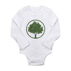 Vintage Tree Long Sleeve Infant Bodysuit