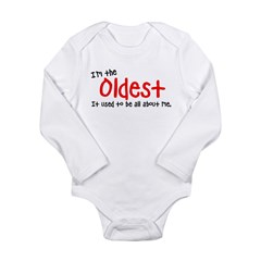 I'm the oldes Long Sleeve Infant Bodysuit