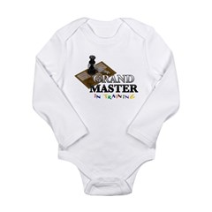 Grand Master in Training Long Sleeve Infant Bodysuit