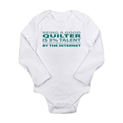 Good Quilter Long Sleeve Infant Bodysuit