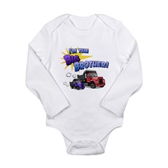 I'm the Big Brother! Long Sleeve Infant Bodysuit