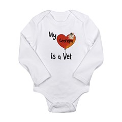 Vet Long Sleeve Infant Bodysuit