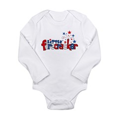 Little Firecracker Long Sleeve Infant Bodysuit