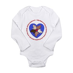Pledge Long Sleeve Infant Bodysuit