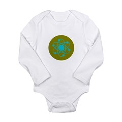 Atom Long Sleeve Infant Bodysuit