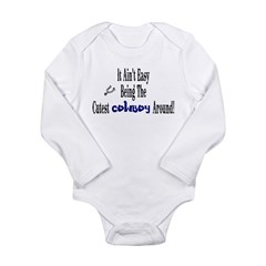 -Cutest Cowboy Around Long Sleeve Infant Bodysuit