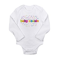 baby cousin Long Sleeve Infant Bodysuit