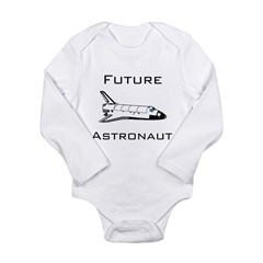 Future Astronau Long Sleeve Infant Bodysuit