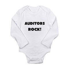 Auditors ROCK Long Sleeve Infant Bodysuit