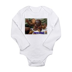 need hug.jpg Long Sleeve Infant Bodysuit