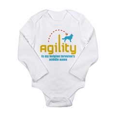 Belgian Tervuren Long Sleeve Infant Bodysuit