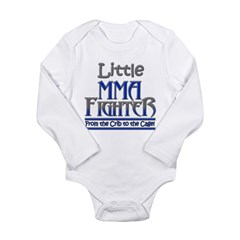 Little MMA Fighter - Crib to Long Sleeve Infant Bodysuit